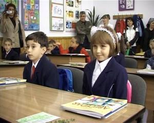 elevi in clasa I