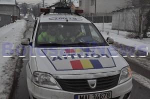 politia rutiera Botosani iarna