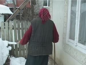 pensionara iarna