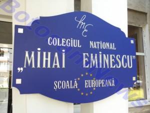 Colegiul National Mihai Eminescu Botosani