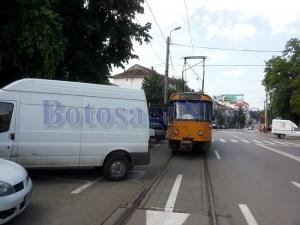 tramvai blocat botosani1
