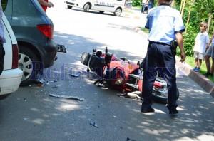 accident motocicleta botosani