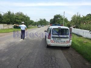 razie politie rutiera trafic botosani