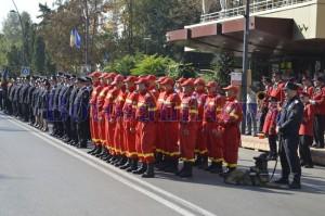 pompieri in formatie botosani