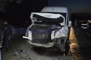 microbuz maxi taxi accident stauceni botosani