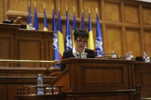 deputat Tamara Ciofu in Parlament