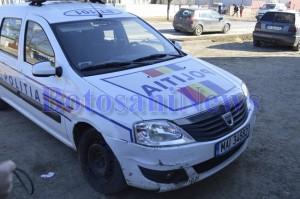 accident masina politiei flamanzi botosani
