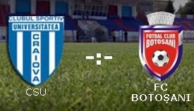CSU Craiova, FC Botosani
