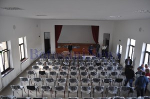 interior Cămin cultural Rachiti- Botosani