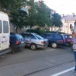parcare aiurea intersectie blocata tramvaie (2)