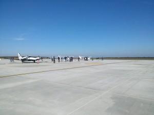 avion Mirel Vlas- Tehnic Asist SRL Botosani- aeroport Salcea Suceava