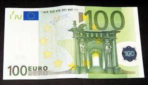 bancnota de 100 euro