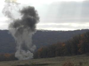 explozie munitie