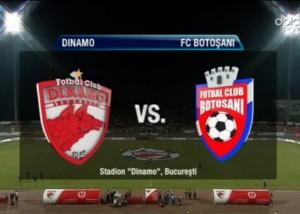 Dinamo Bucuresti- FC Botosani