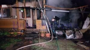 incendiu cabana botosani