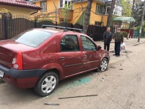 masina distrusa la Botosani1
