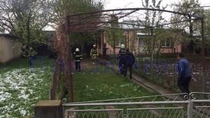 pompieri casa incendiu