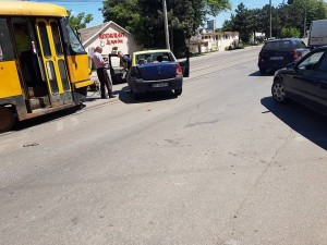 accident taxi -tramvai botosani
