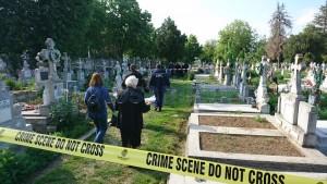 deshumare cimitir pacea politie iulian calinescu