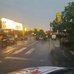 strazi inundate. stiri, ploi torentiale, municipiul botosani