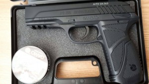pistol confiscat politie frontiera botosani