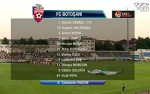 fc botosani- cfr cluj- echipa FC Botosani
