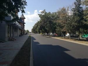 asfalt bulevardul george enescu