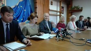 ministrul andreea pastirnac ambasadorul italiei marco giungi