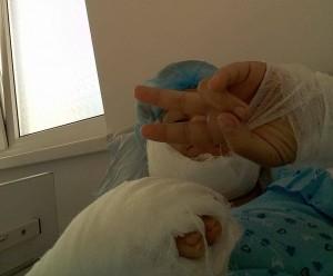 rănită grav, Lăcrămioara Vira, este internată la Spitalul Județean Botoșani