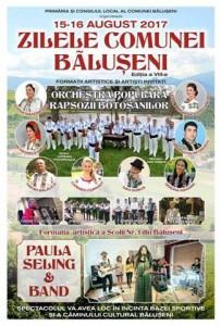 zilele comunei baluseni