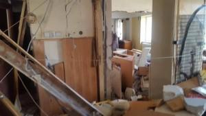 apartament distrus de explozie la botosani