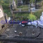 morminte distruse cimitirul eternitatea -botosani