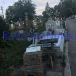 morminte distruse- cimitirul eternitatea - botosani