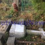 morminte distruse cimitirul eternitatea- botosani