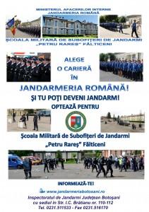 Afis de recrutare IJJ Botosani