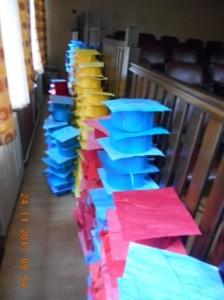 toca tricolora pentru elevii de la Colegiul Mihai Eminescu botosani