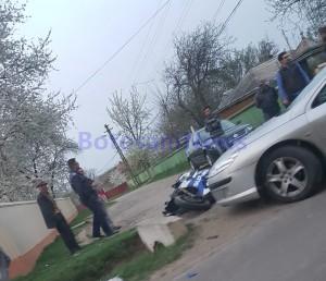 accident, stiri, botosani, vladeni, motoscuter