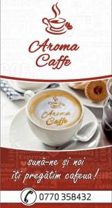 banner aroma caffe