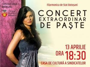 concert pascal, stiri, filarmonica botosani, botosani, paula seling
