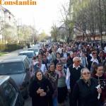 procesiune, stiri, Izvorul Tamaduirii, botosani , icoana Portita