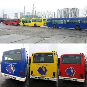 Caravana Unirii_autobuze personalizate