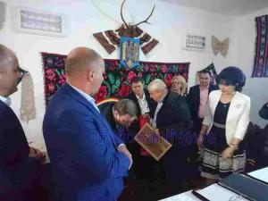 petre daea ministrul agriculturii manoleasa cetatean onoare