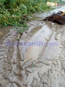 inundatii, stiri, intersectie, strada pacea, botosani (3)