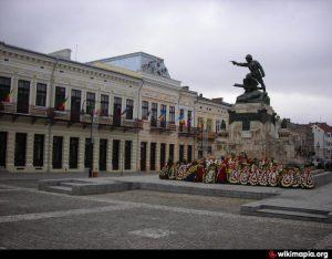 monument centrul vechi, maior ignat, stiri, botosani